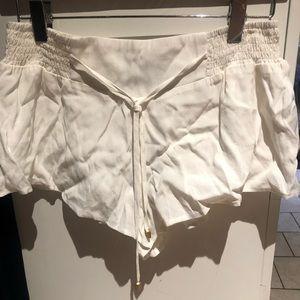 Minkpink White Shorts